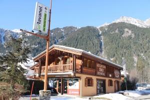 magasin de ski à chamonix
